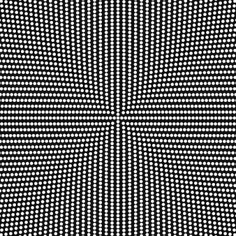 Black and white halftone abstract circle background design
