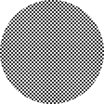Black and white hypnotic background. vector illustration. eps 10.