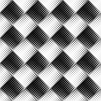 Black and white seamless abstract circle pattern background