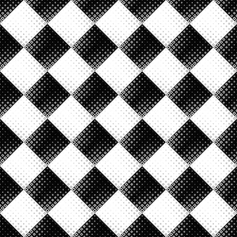 Black and white seamless abstract square pattern background