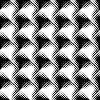 Black and white seamless geometrical square pattern background