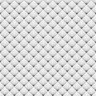 Black white seamless pattern with vintage