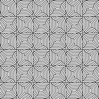Black and white textured seamless pattern