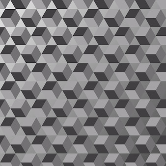 Black and white triangle background texture