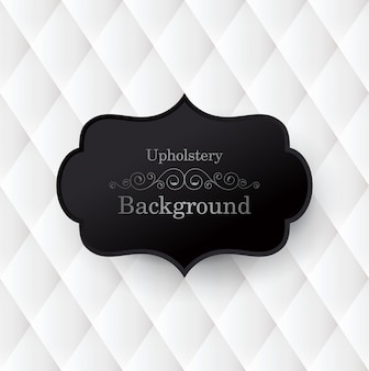 Black and white upholstery background.
