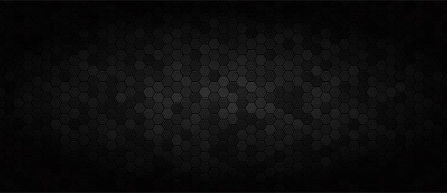 Black wide technology background