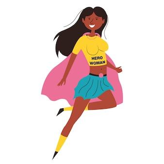 Black woman superhero african american