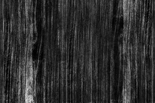 Black wooden floor