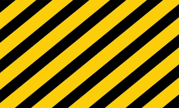 Black and yellow caution tape vector