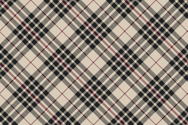 Blackberry tartan diagonal plaid seamless