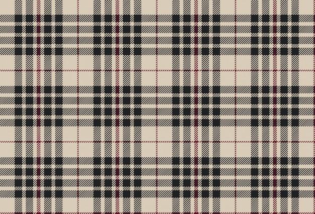 Blackberry tartan seamless pattern