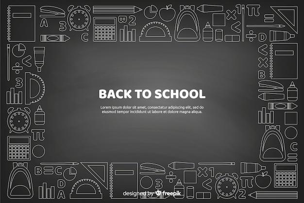 Доска обратно в школу фоне