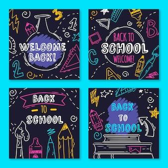 黒板を学校に戻すinstagramの投稿