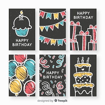 Blackboard коллекция поздравительных открыток