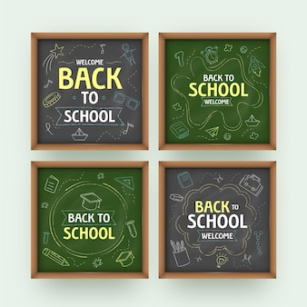 Blackboard design school instagram posts