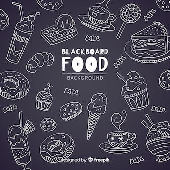 Доска еды фон
