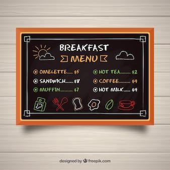 Шаблон меню blackboard