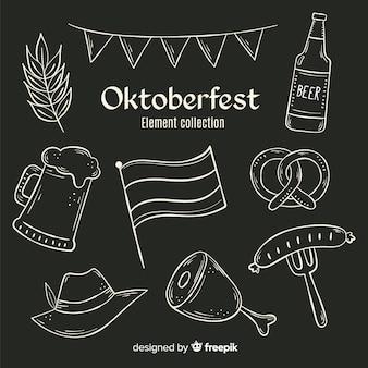 Blackboard oktoberfest element collection