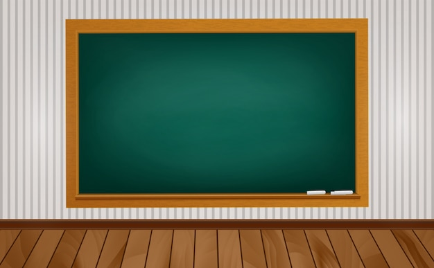 Blackboard at school