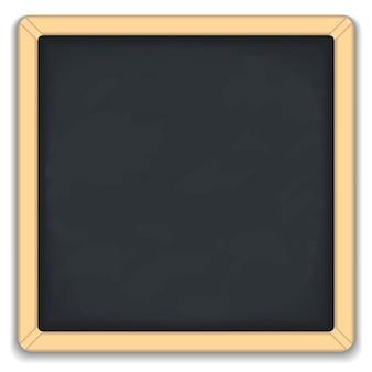 Blackboard square icon, illustration