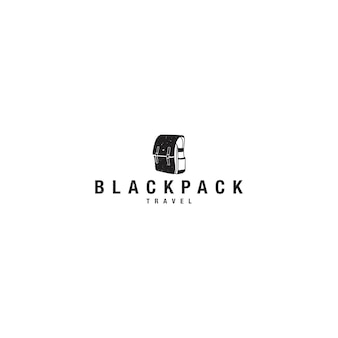 Blackpack travel logo