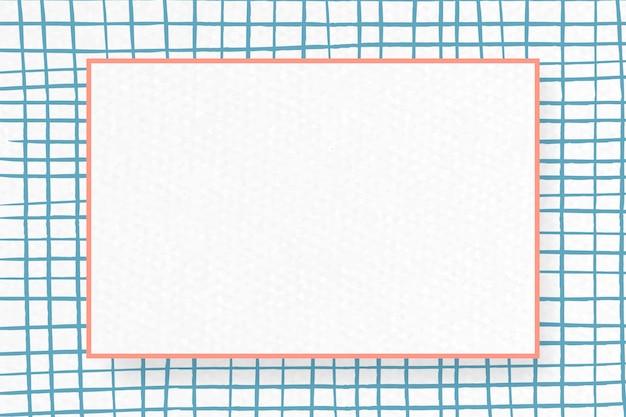 Design del telaio astratto vuoto