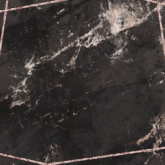 Blank black marble textured background