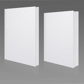 Blank book cover Premium Vector
