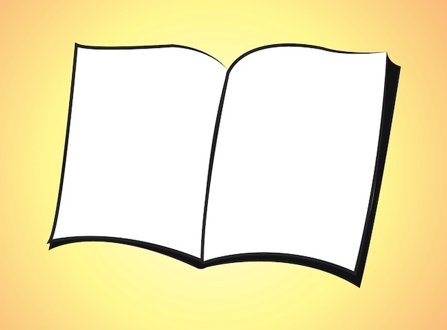 Blank book icon