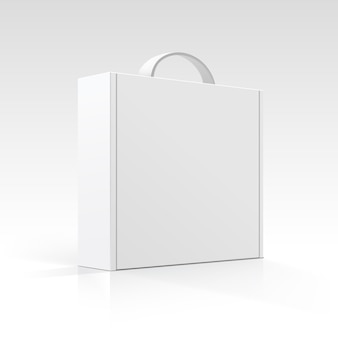 Blank box with handle