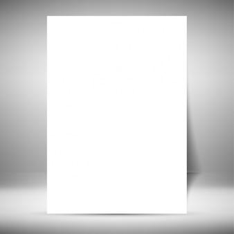 팜플릿 템플릿-빈 무료 벡터