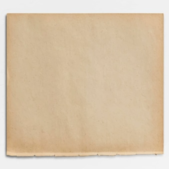 Blank brown paper design