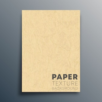 Blank cardboard sheet