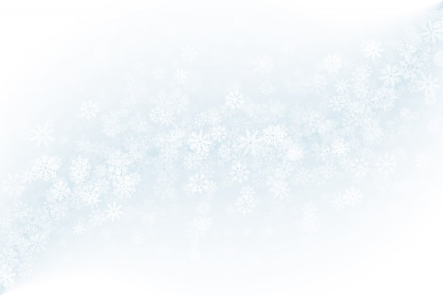 Blank clear winter background