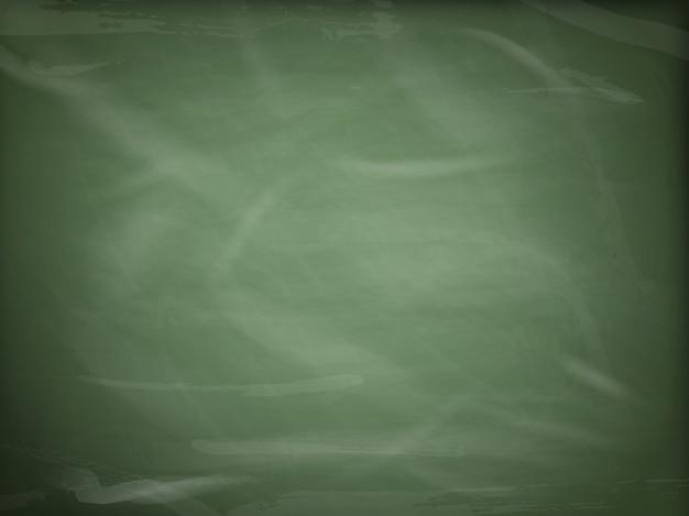 空白の緑の黒板、コピースペースを持つ黒板のテクスチャー。