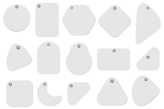 空白のラベルの図