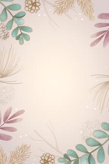 Пустой листовой дизайн рамы