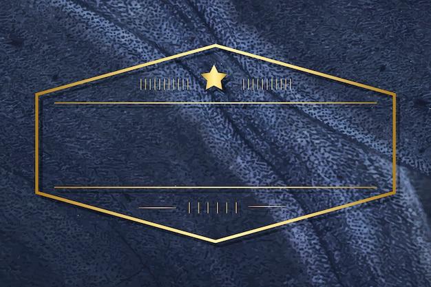 Blank minimal badge