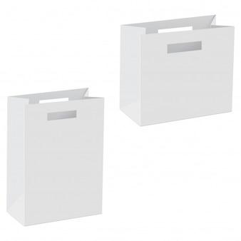 紙袋テンプレートの空白