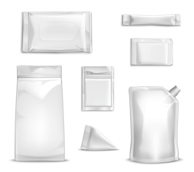 Blank packaging set