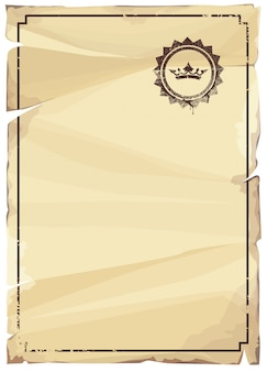 Blank paper design
