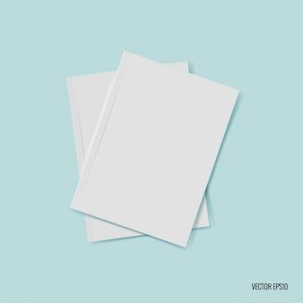 Пустые листы бумаги