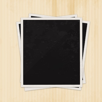 Blank photography frame