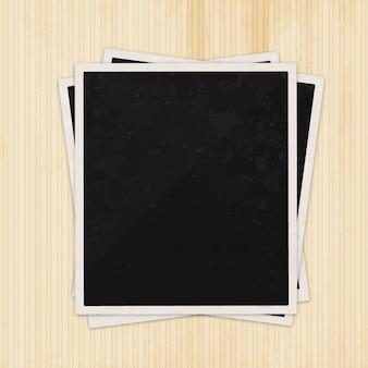 Blank photography frame