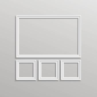 空白の額縁テンプレートの構成