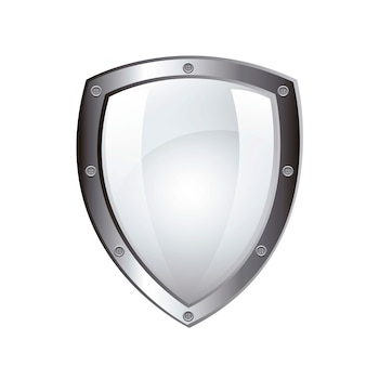 Blank protection shield isolated