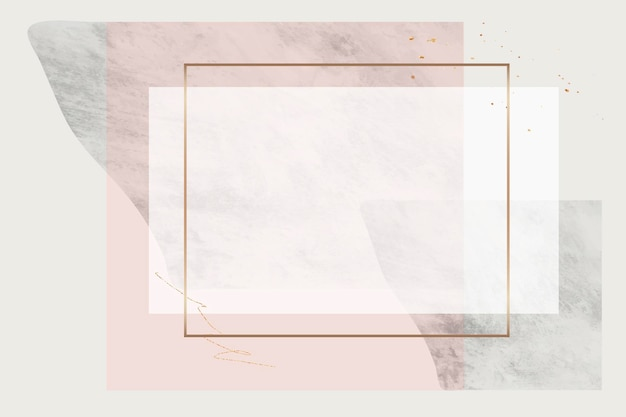 Blank rectangle frame design