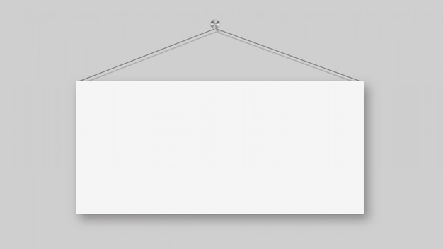 文字列に掛かっている空白の看板