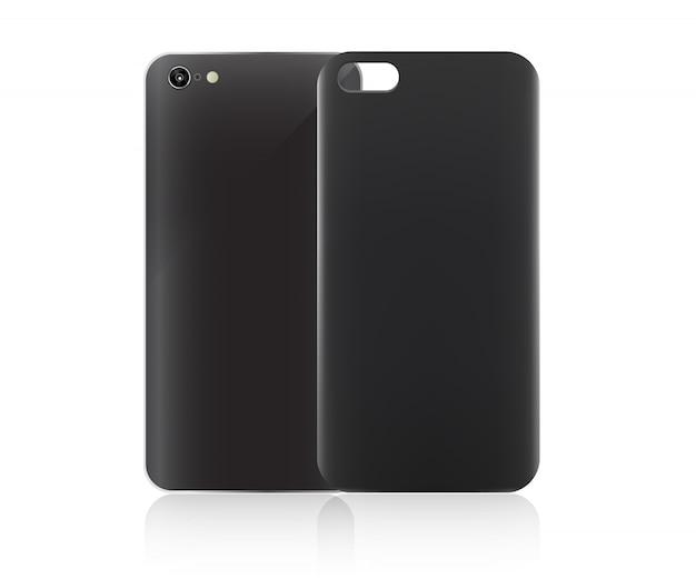 Blank smartphone case.
