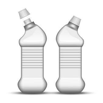 Blank universal cleaner plastic bottle